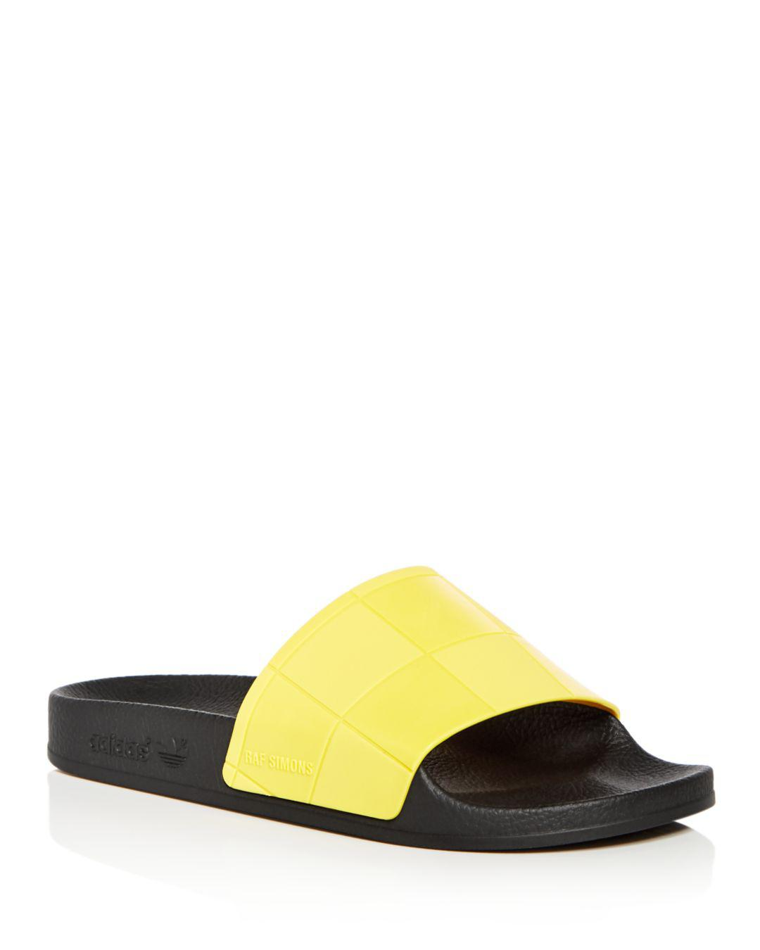 adidas By Raf Simons Rubber Sandals in