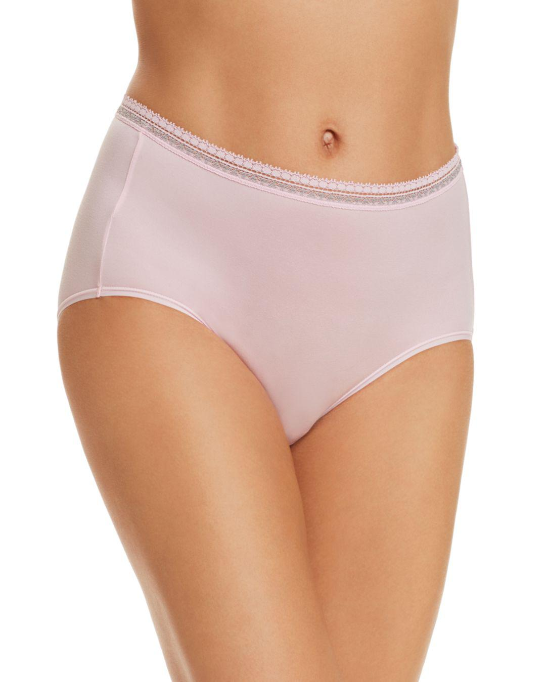 601a27786e Wacoal Perfect Primer Briefs in Pink - Lyst