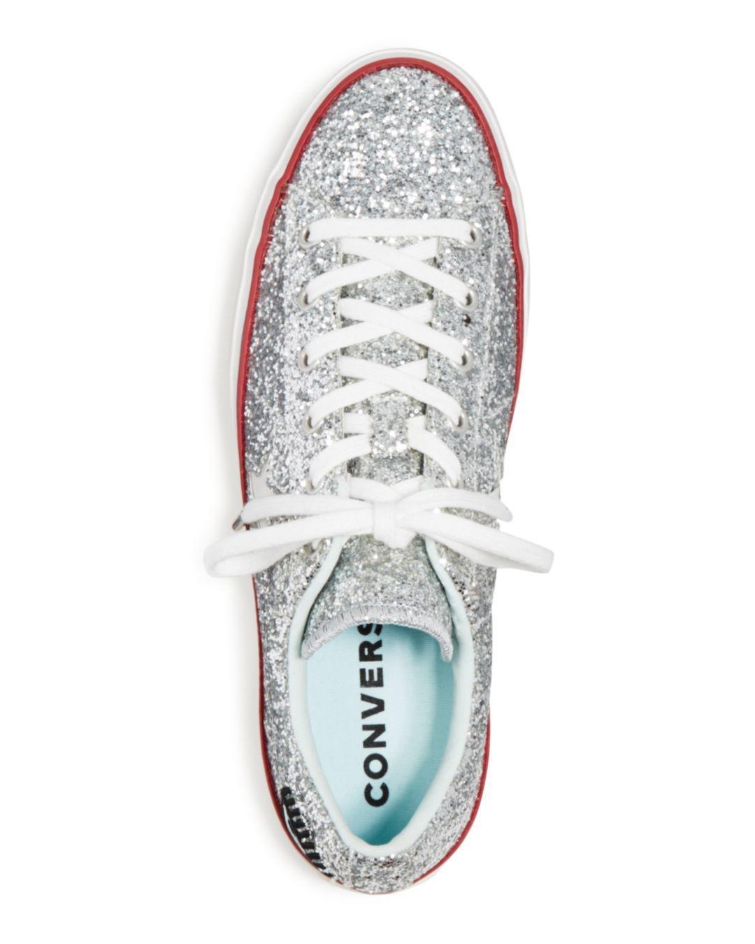 Converse Women's One Star Platform X Chiara Ferragni Glitter ...