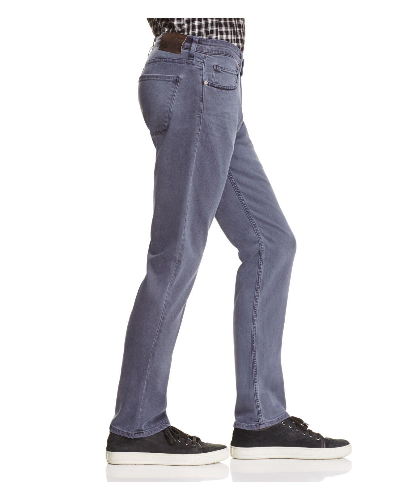 PAIGE Denim Federal Slim Fit Jeans In Vintage Navy in Blue for Men