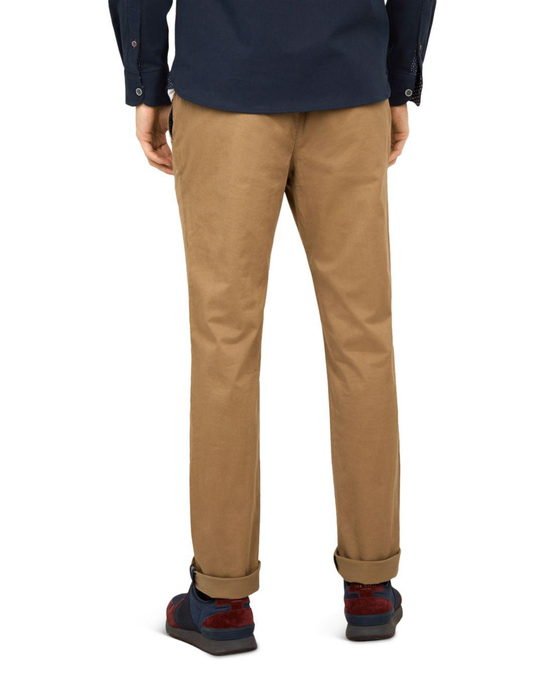630a71016dbb Lyst - Ted Baker Seenchi Slim Fit Chinos in Natural for Men