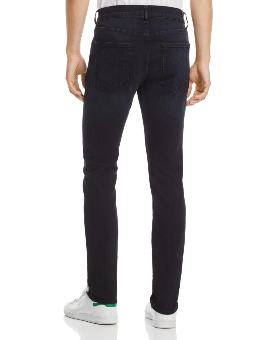 7 For All Mankind Denim Seven For All Mankind Paxtyn Super Slim Jeans In Stockholme in Blue for Men