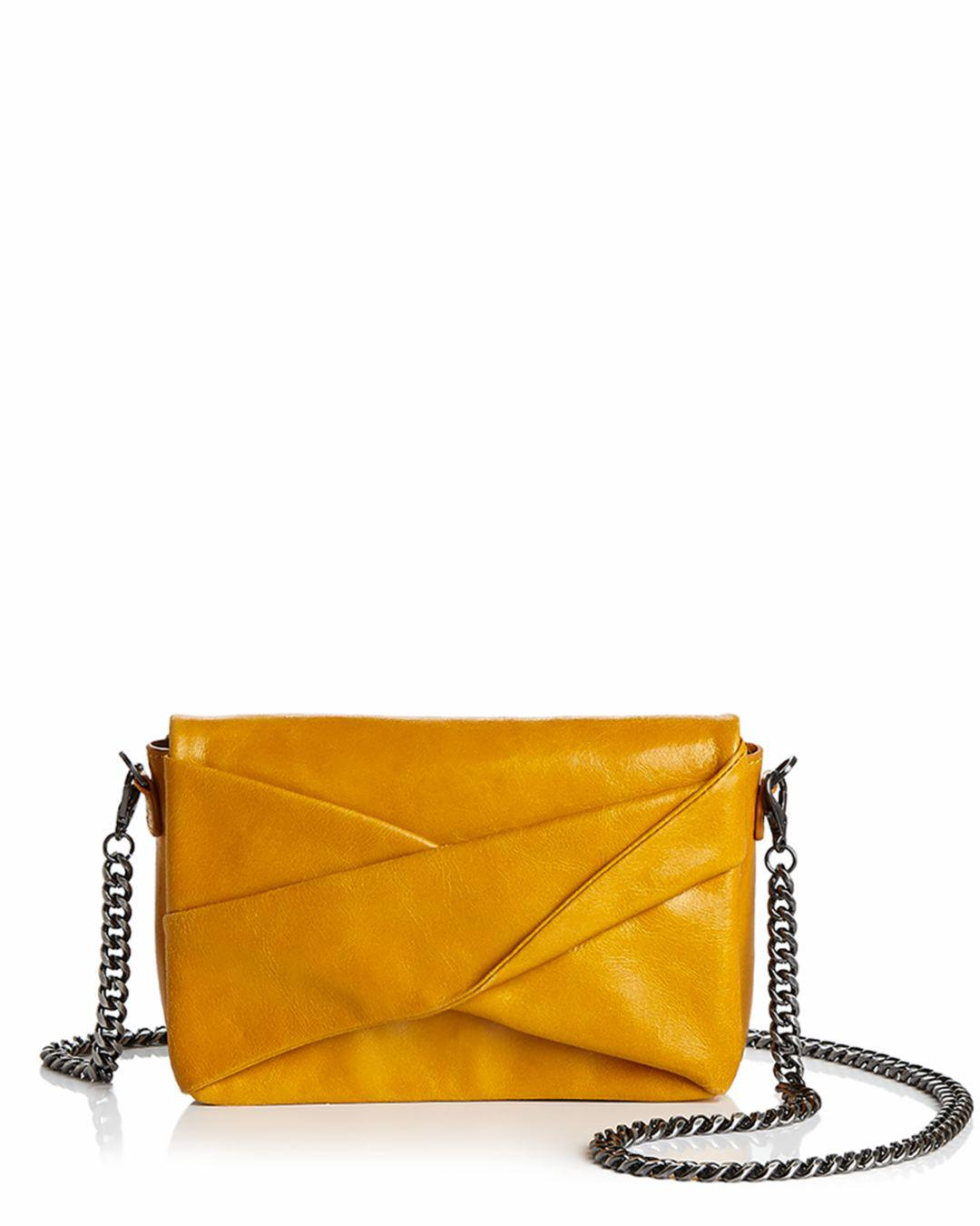 c1836d56fd Halston Heritage - Multicolor Grace Small Bow Convertible Leather Crossbody  - Lyst. View fullscreen