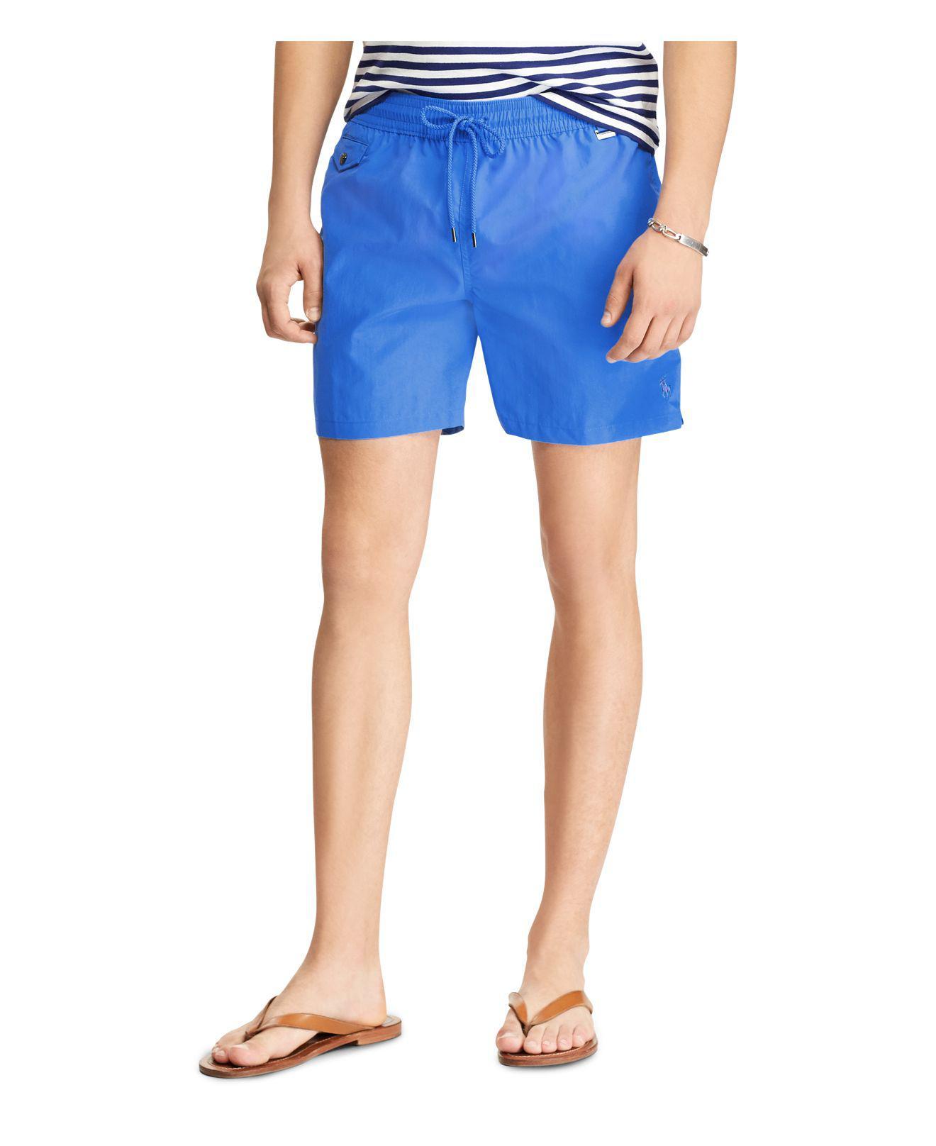 Polo Ralph Lauren. Men\u0027s Blue Explorer Swim Trunks