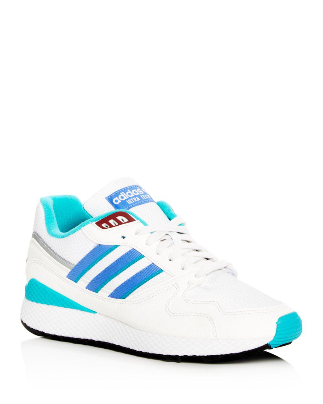 98bfb19a9860c Lyst - Adidas Men s Ultra Tech Lace Up Sneakers in White for Men