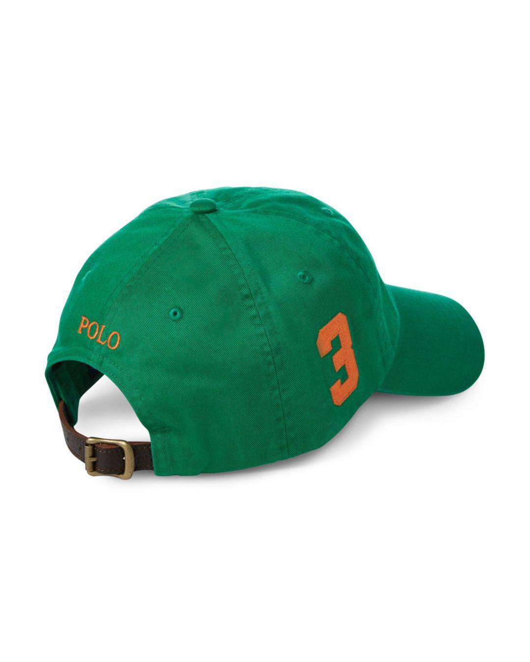Lyst - Polo Ralph Lauren Classic Sports Cap in Green for Men 1e55b6d0493a