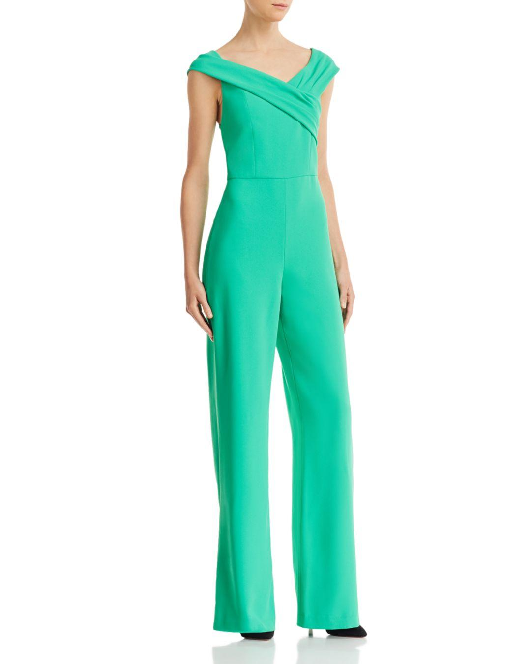 a700a952361 Lyst - Alice + Olivia Alice + Olivia Kaye Wide-leg Jumpsuit in Green