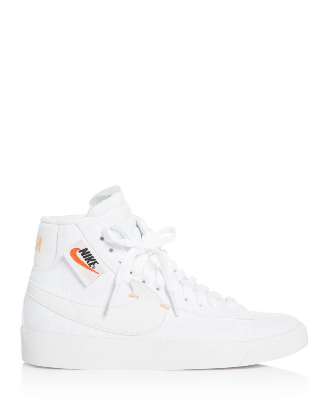 nike mid top sneakers