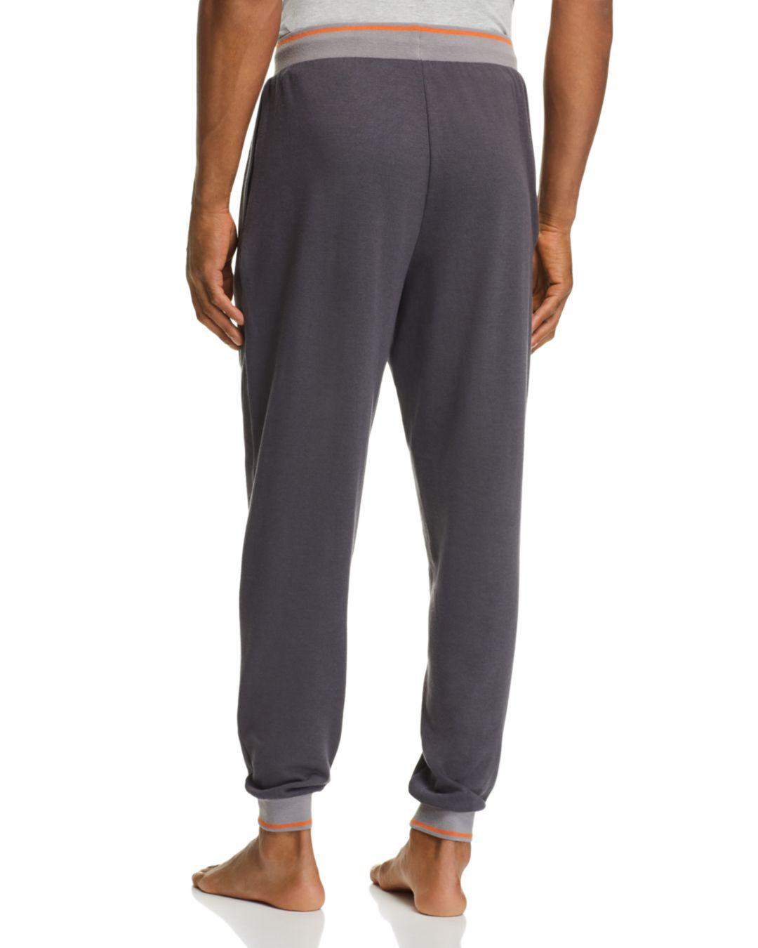 3cdbcc5ce895 Lyst - Psycho Bunny Plush Knit Lounge Jogger Pants in Gray for Men