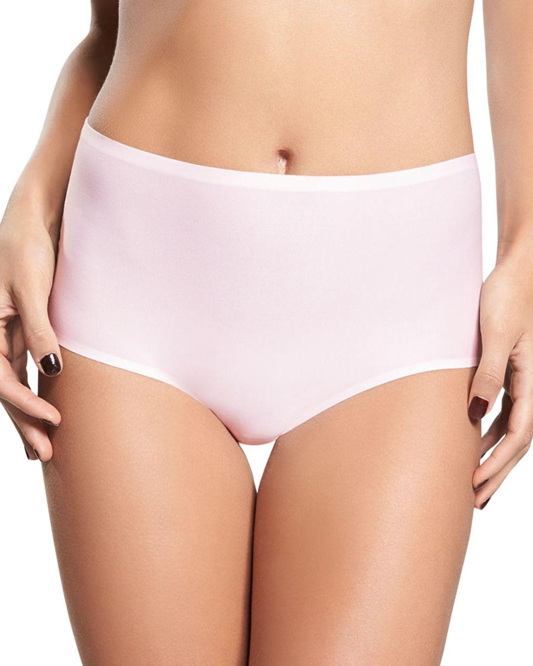 1b6c74241fb6 Lyst - Chantelle Soft Stretch One-size Seamless Briefs in Pink ...