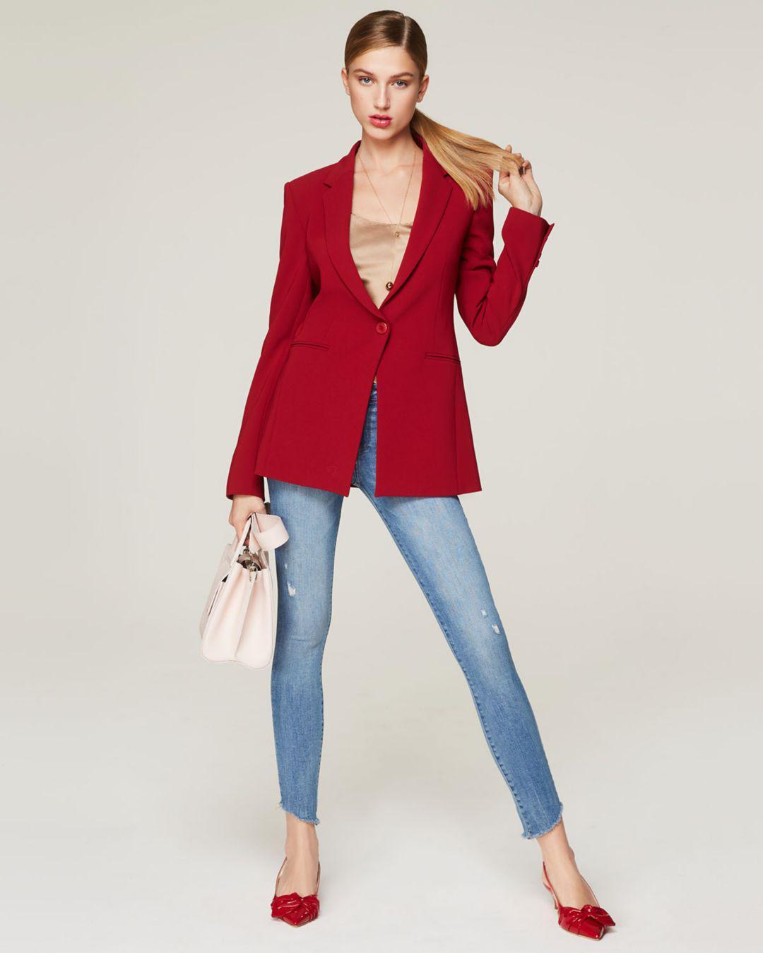 DL1961 Denim Florence Instasculpt Skinny Jeans In Rowland in Blue