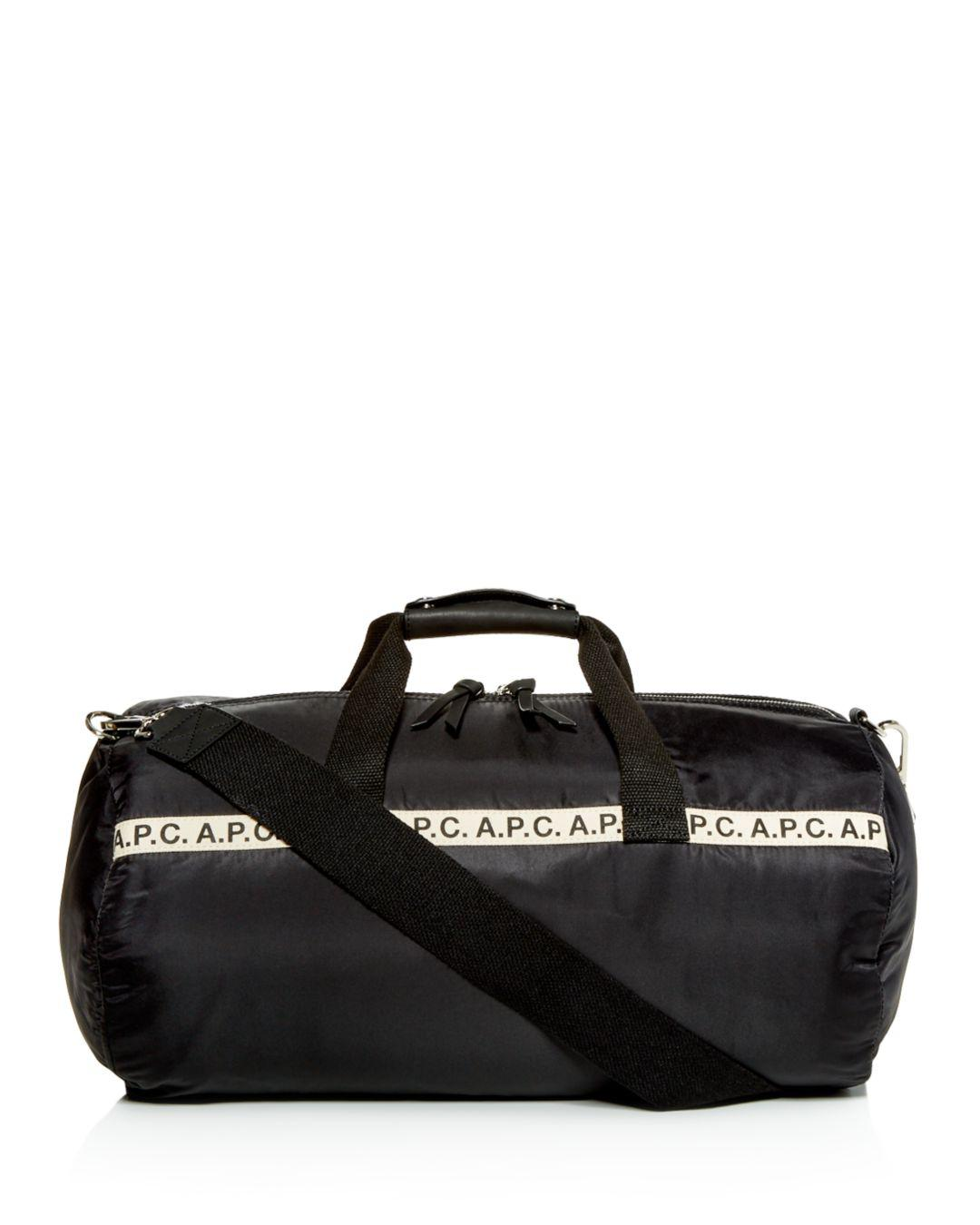 b79030a3bf5d A.P.C. - Black Maybelline Sport Duffel Bag for Men - Lyst. View fullscreen