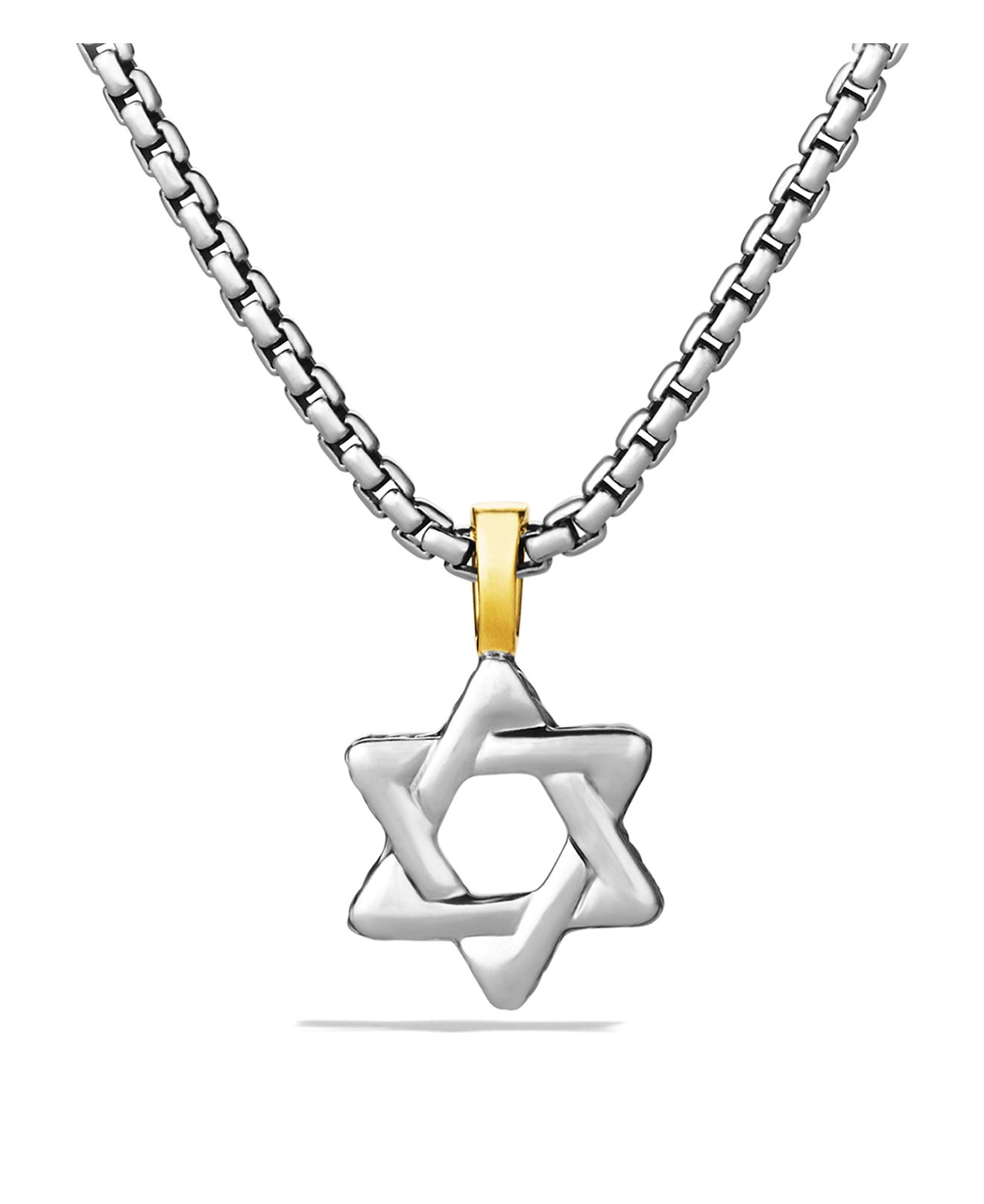 David Yurman Star of David Dog Tag Pendant Sterling Silver NWOT $ New (Other) $ Guaranteed by Mon, Nov. Buy It Now +$ shipping. 14 Watching. David Yurman Silver Pave Star of David with Black Diamonds Chevron Pendant 23mm. New (Other) $ From India. or .