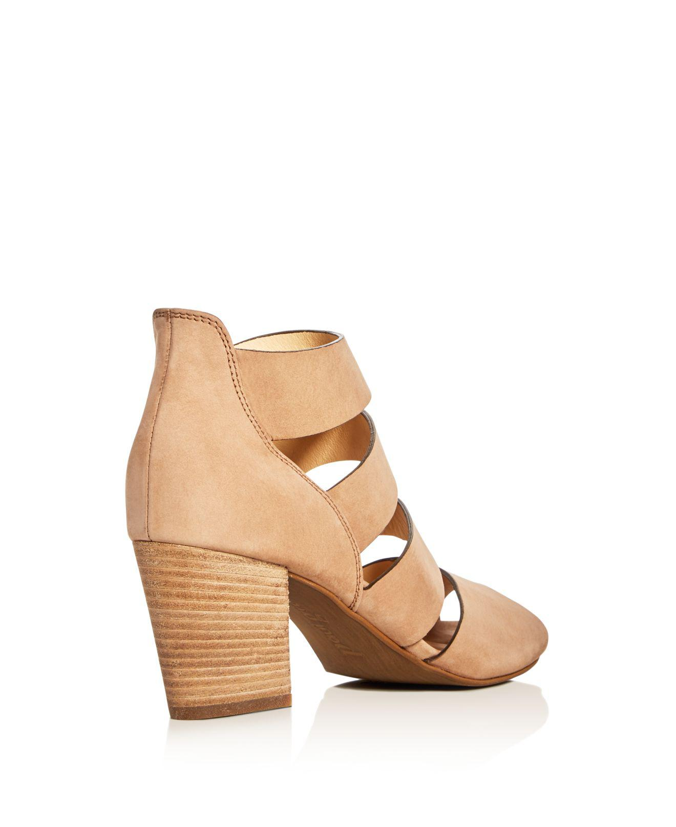 e9708f7822434 Paul Green Michele Caged Sandals in Brown - Lyst