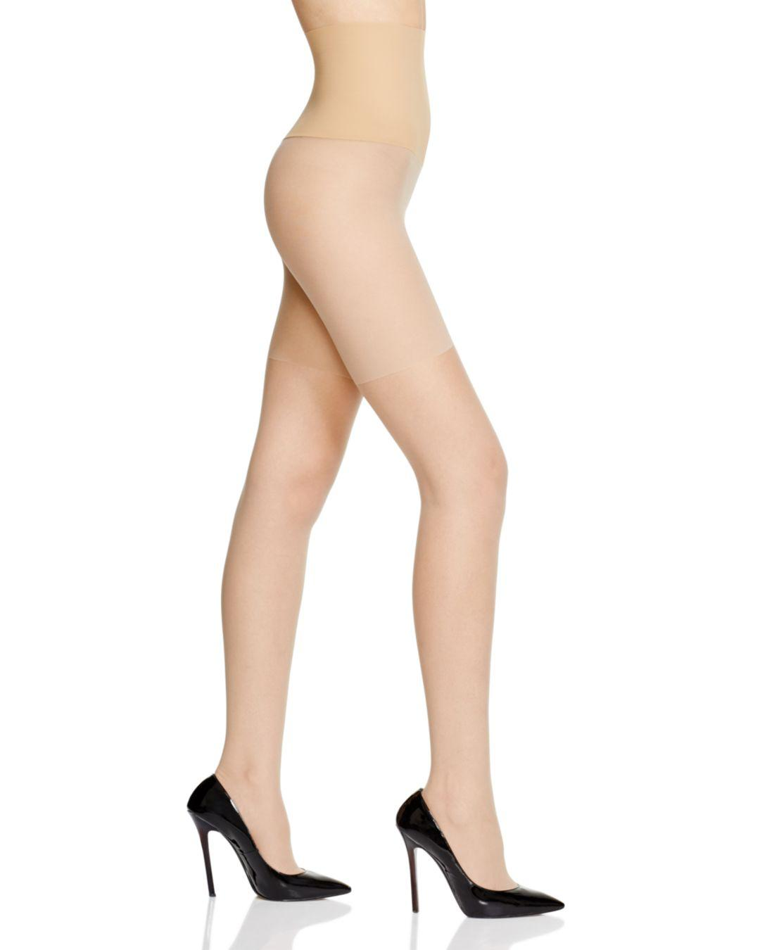 c8e9b68e7ac2b Commando The Keeper Control Sheer Tights in Natural - Lyst