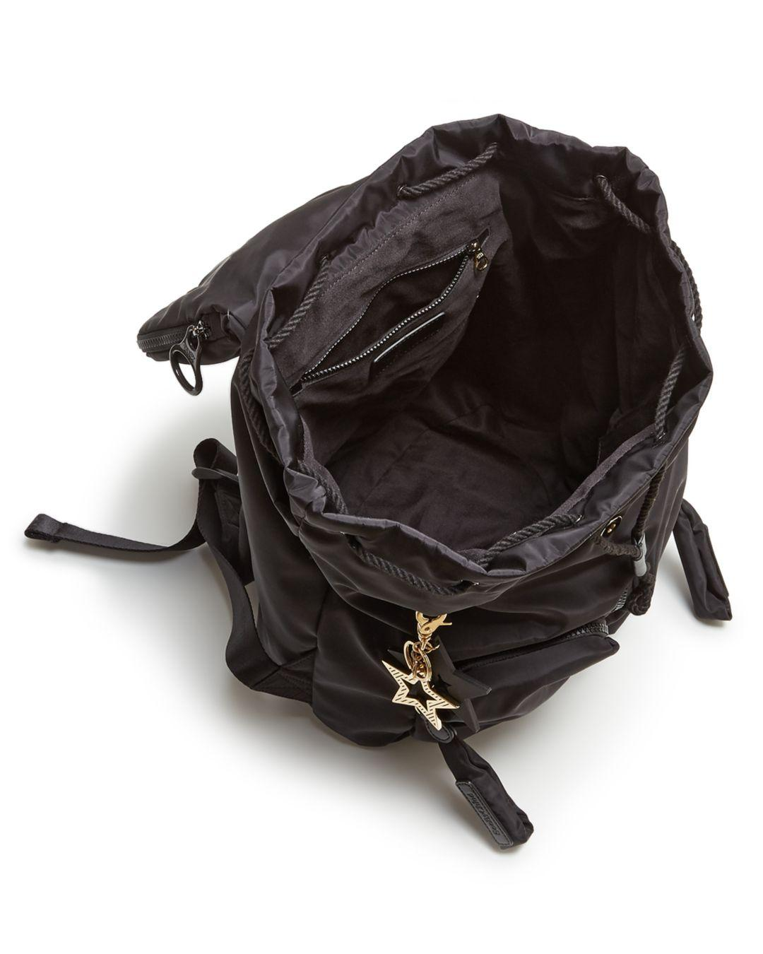 See By Chloé - Black Joyrider Nylon Backpack - Lyst. View fullscreen 8d1aff74acc06