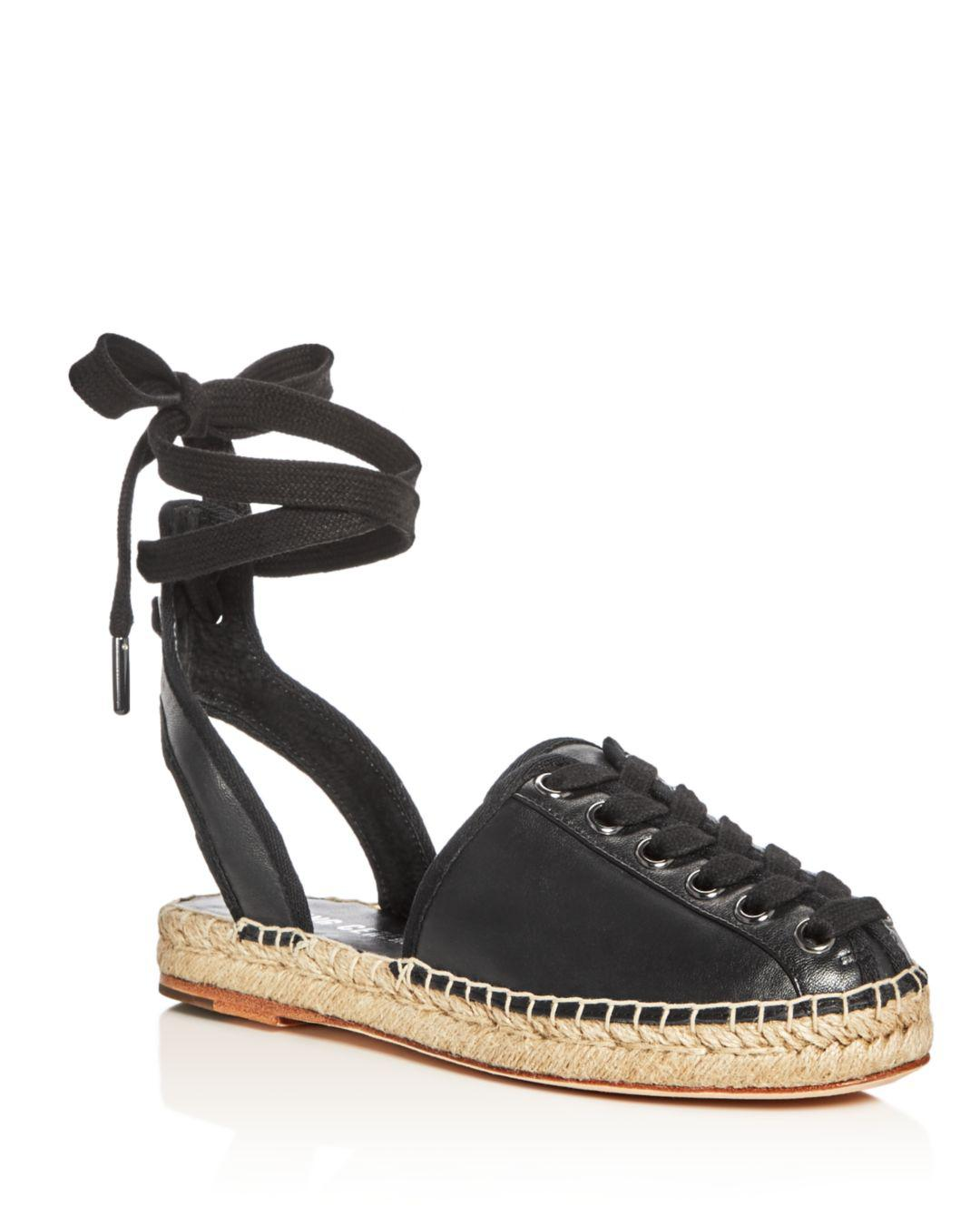 88645bf1613 Opening Ceremony. Women s Black Kahsea Ankle Tie Platform Espadrille Flats