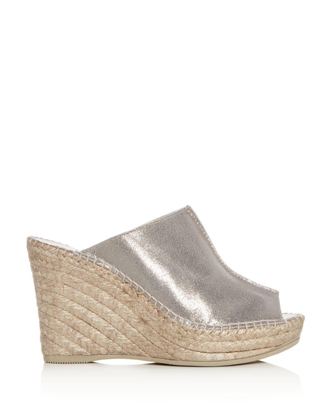 00639355dd7 Women's Cici Platform Wedge Espadrille Slide Sandals