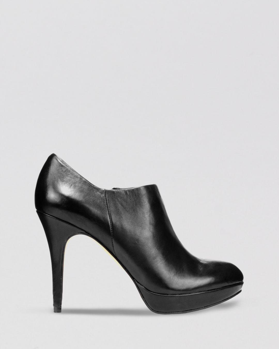 Vince Camuto Platform Booties - Elvin High - Heel in Black