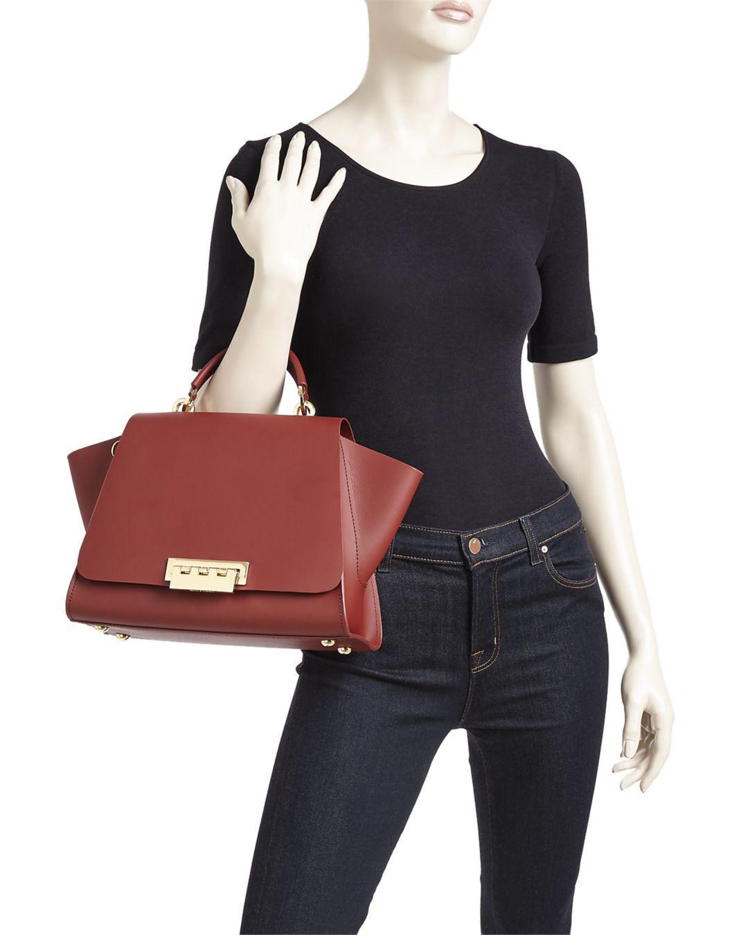 Zac Zac Posen Eartha Iconic Soft Top Handle Large Leather