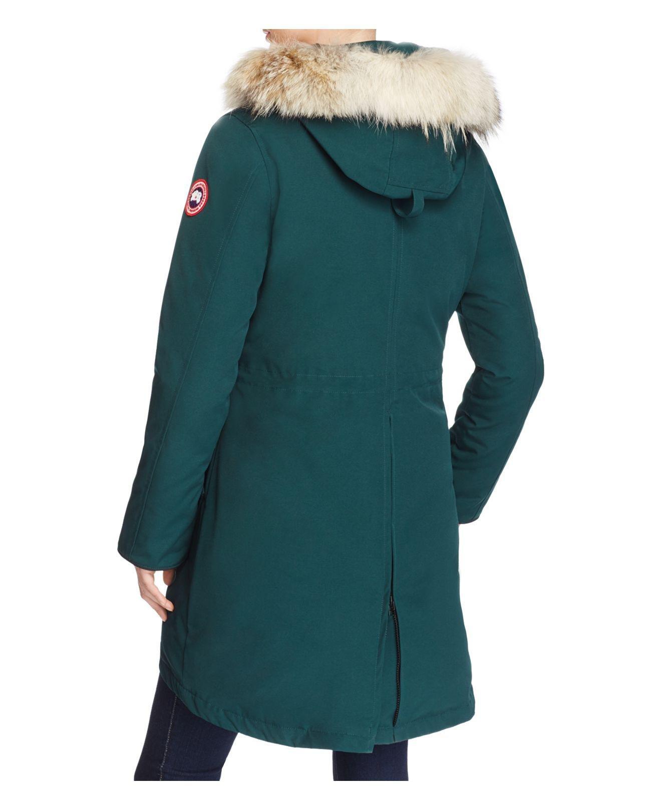 canada goose rossclair algonquin green