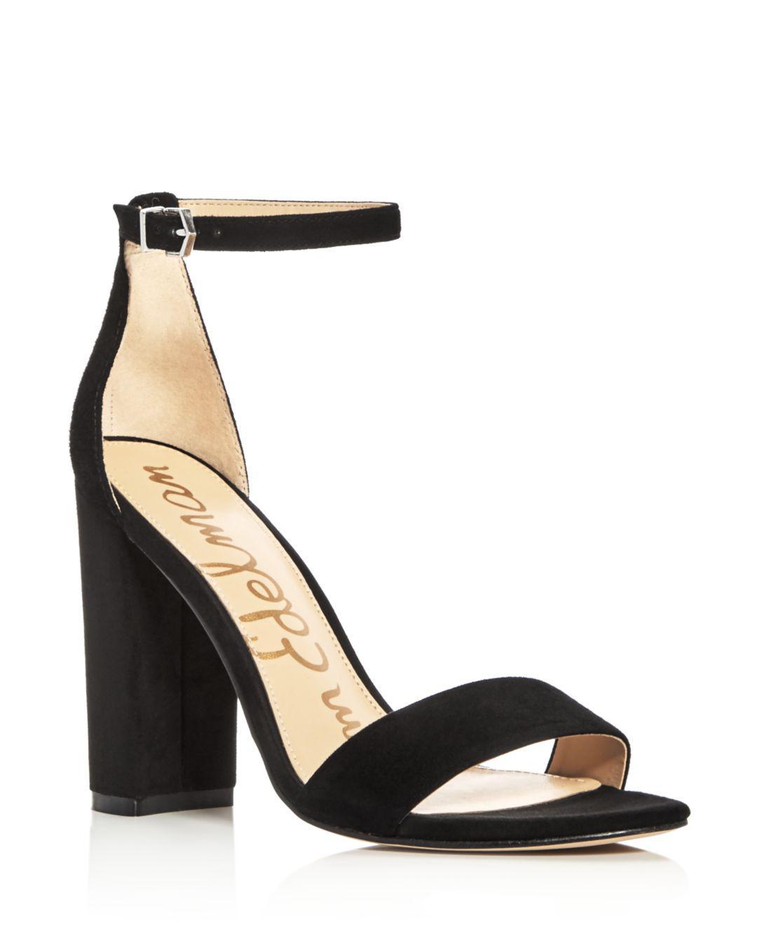 1b38b8a113e Sam Edelman. Women s Yaro Ankle Strap Block Heel Sandals