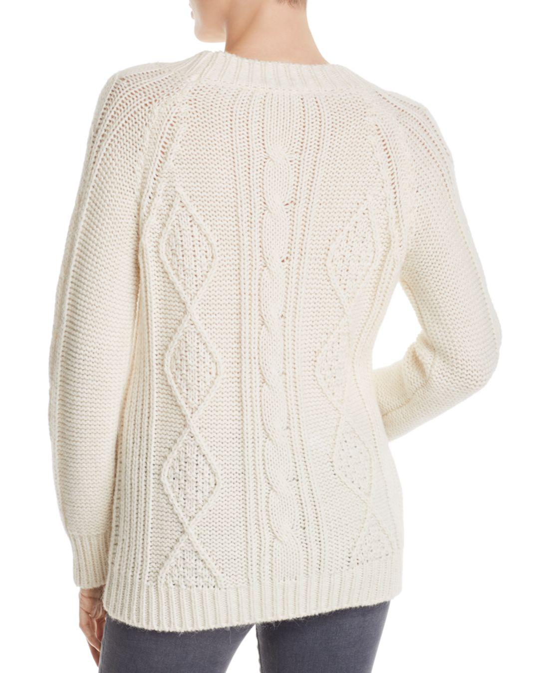 21cc83f0d Lyst - Gerard Darel Marylin Cable-knit Pullover