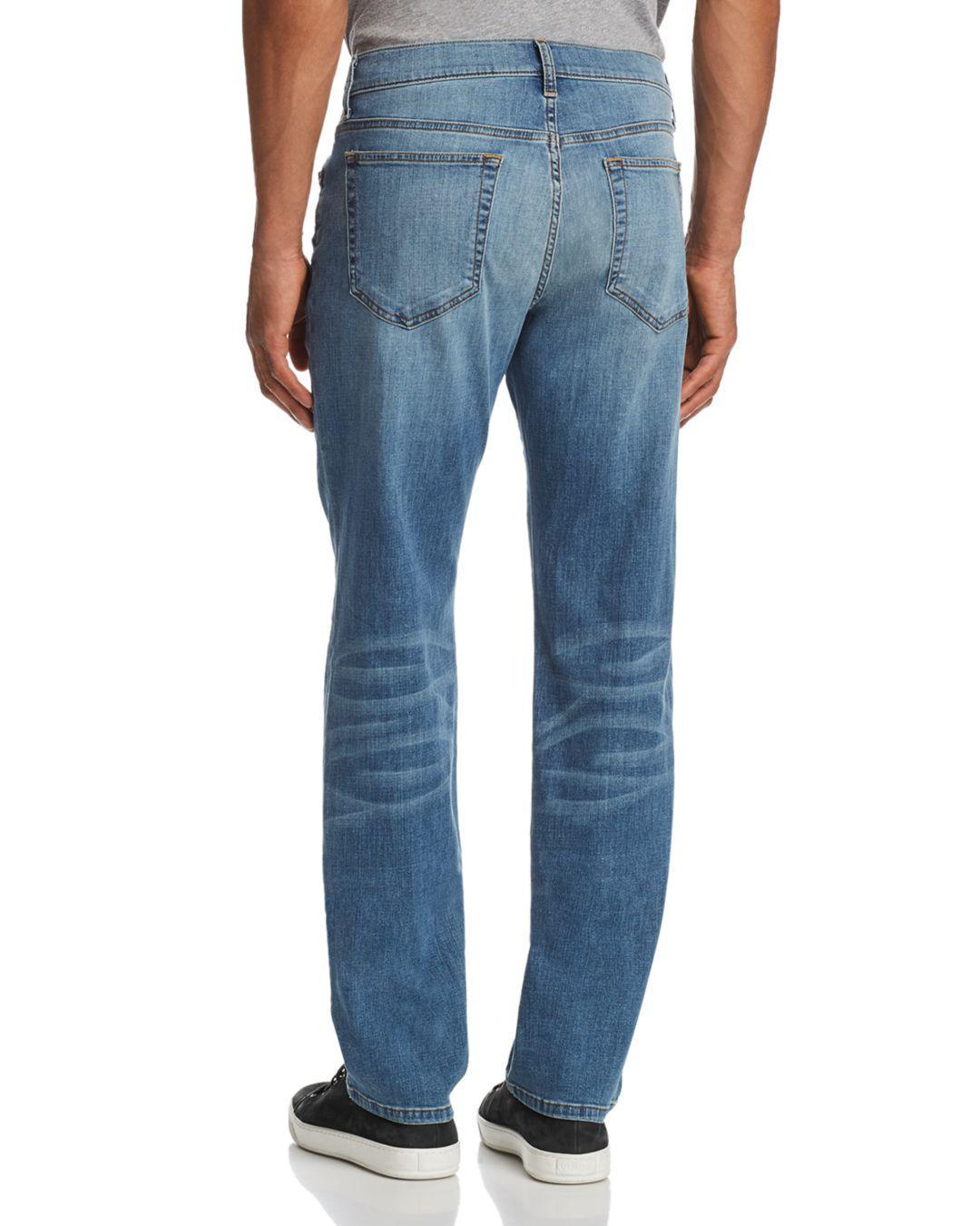 Joe's Jeans Denim Brixton Slim Straight Fit Jeans In Redding in Blue for Men