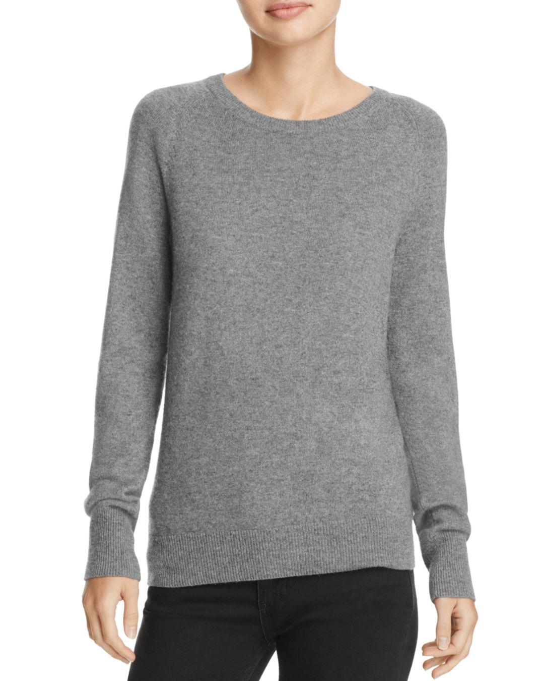 Equipment Sloane Cashmere Sweater in Heather Gray (Grey)