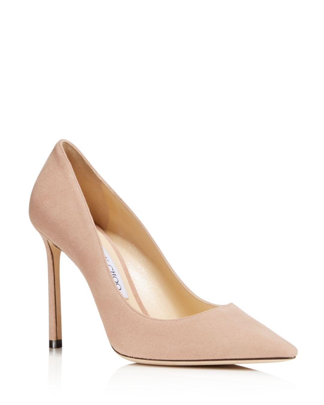 JIMMY CHOO ROMY 100 LEATHER POINTED. #jimmychoo #shoes