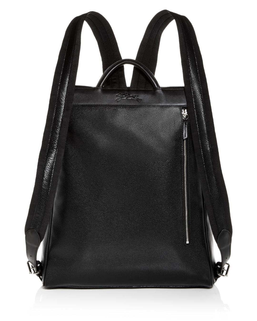 Le Foulonné Extra Large Leather Backpack