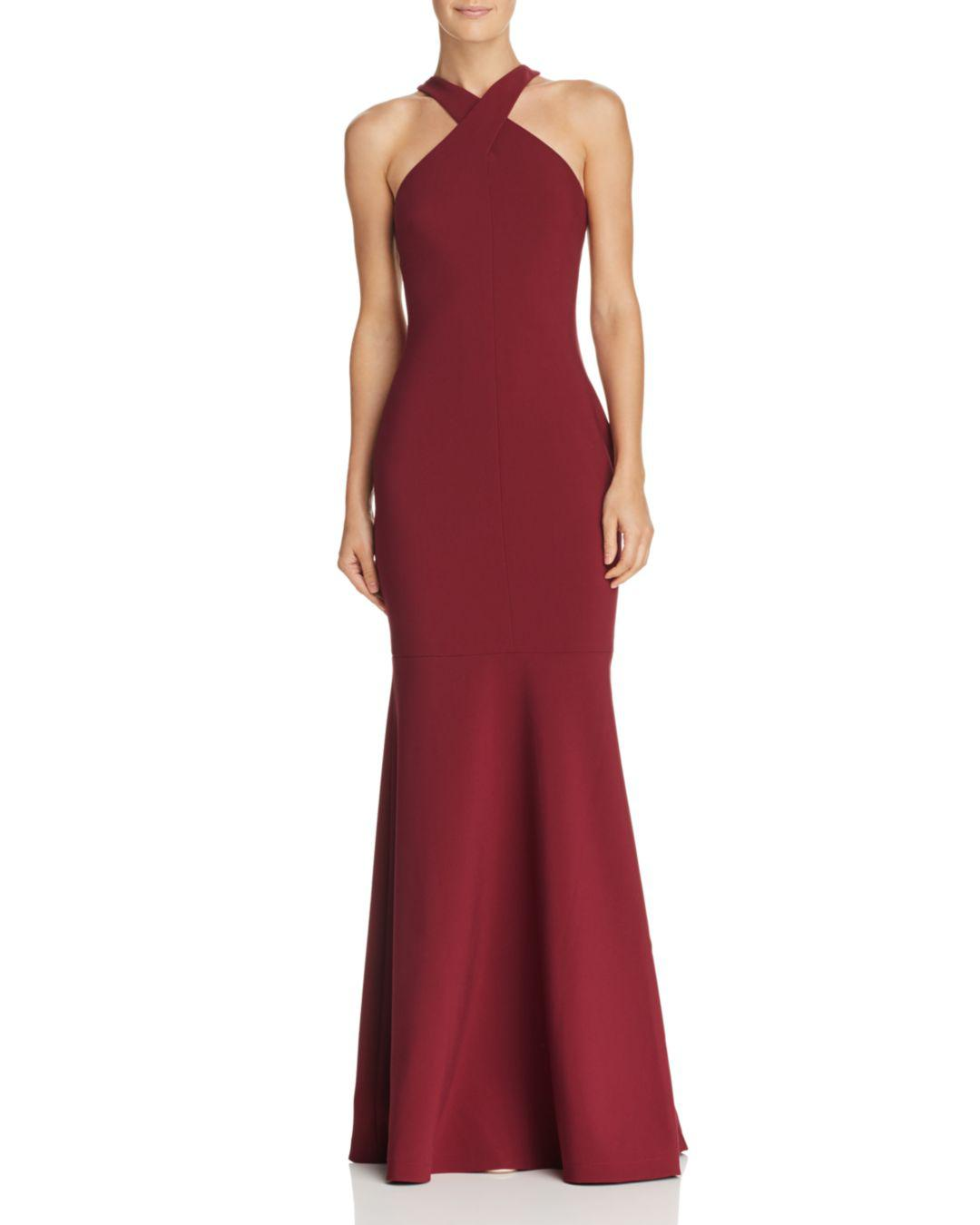 753ba909052 Likely Willa Mermaid Gown in Red - Lyst
