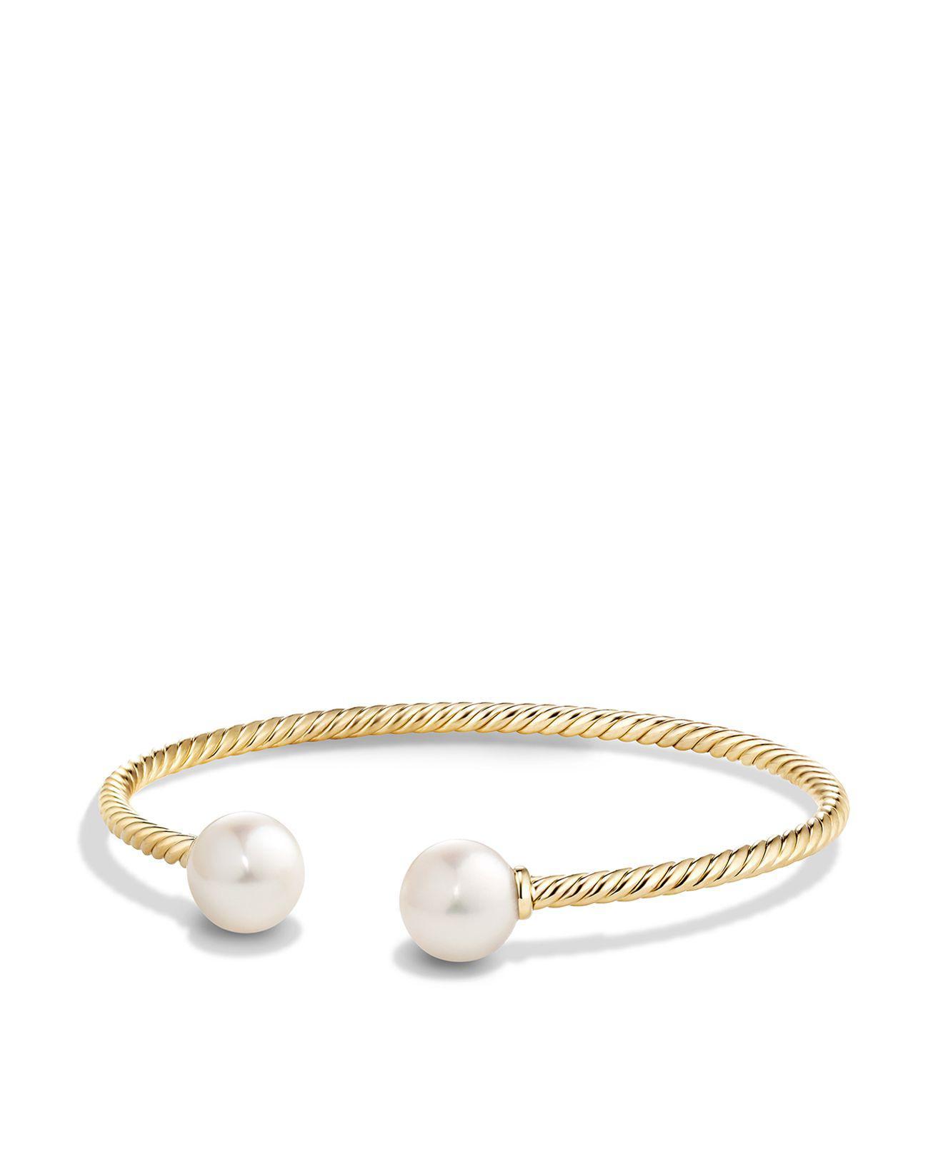 18kt yellow gold Solari cuff bracelet - Metallic David Yurman uGRxNDMud