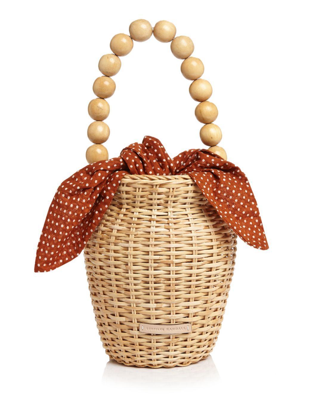 df2379eb05b7f Loeffler Randall. Women's Louise Basket Bag