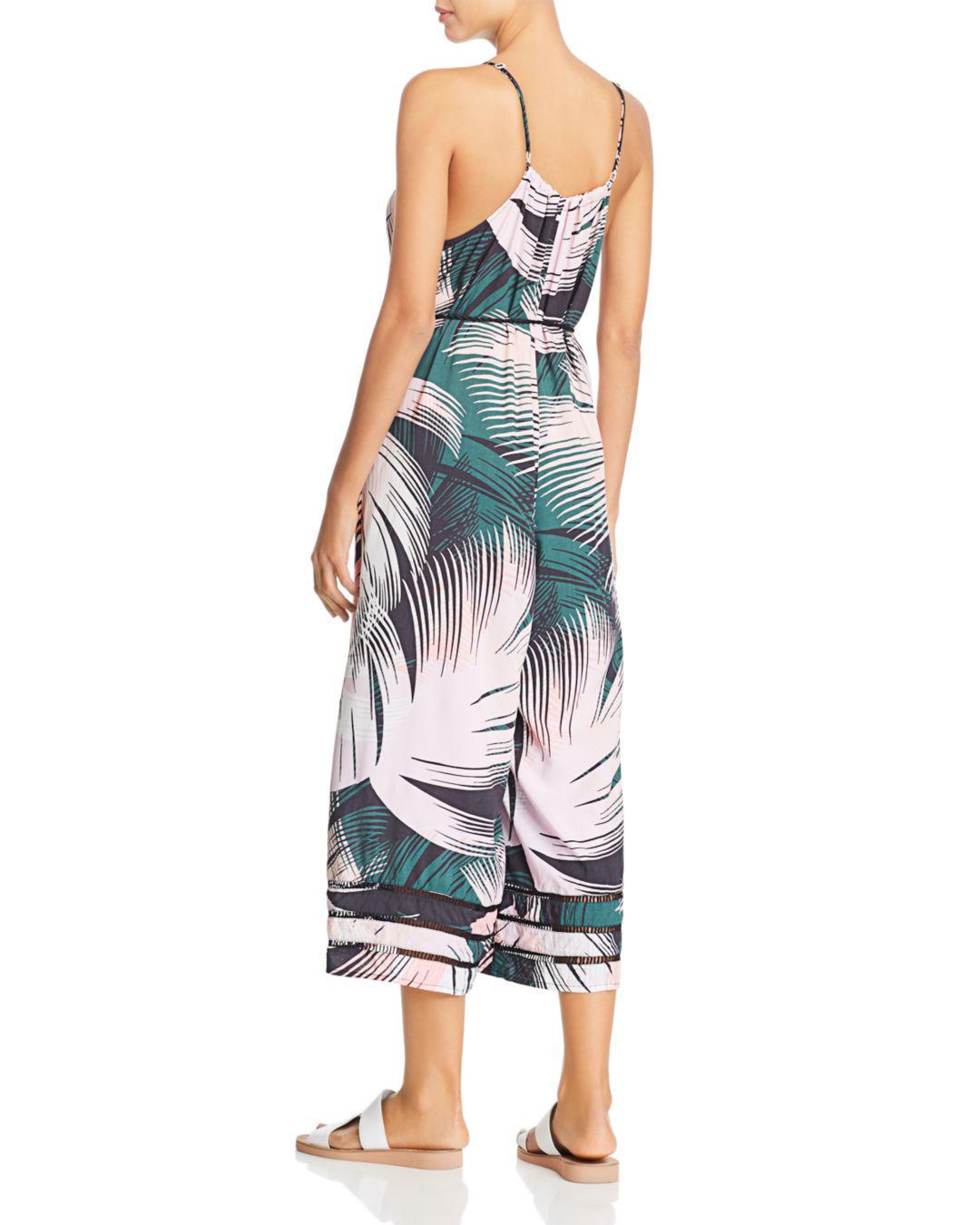 fc11612c0b52f Lyst - Dolce Vita Palms Playa Swim Cover-up Jumpsuit in Blue
