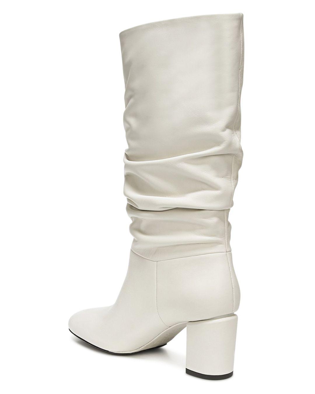 Via Spiga Naren Leather Boots - Lyst
