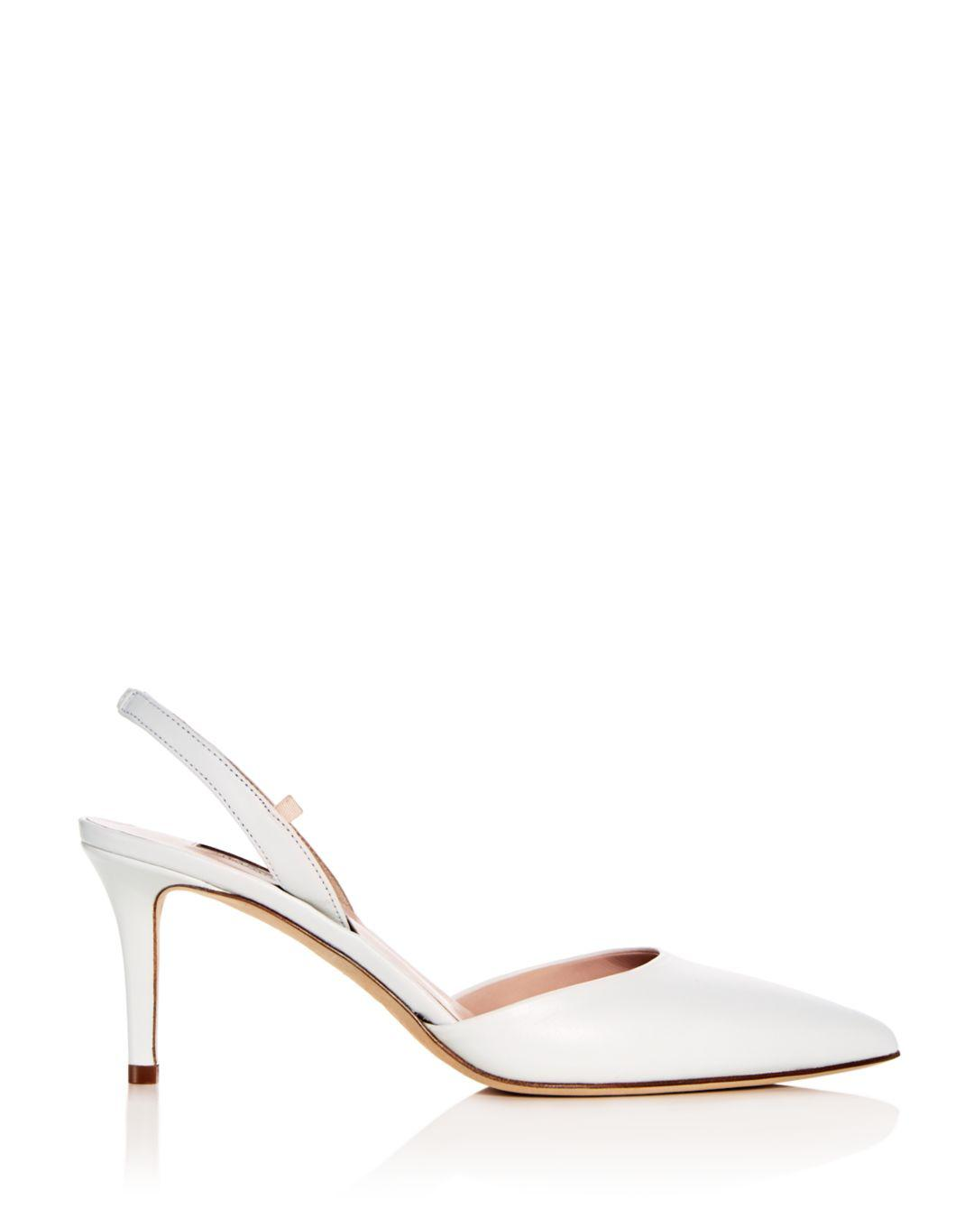 ad15666fe4c Lyst - SJP by Sarah Jessica Parker Women s Bliss Leather Slingback ...