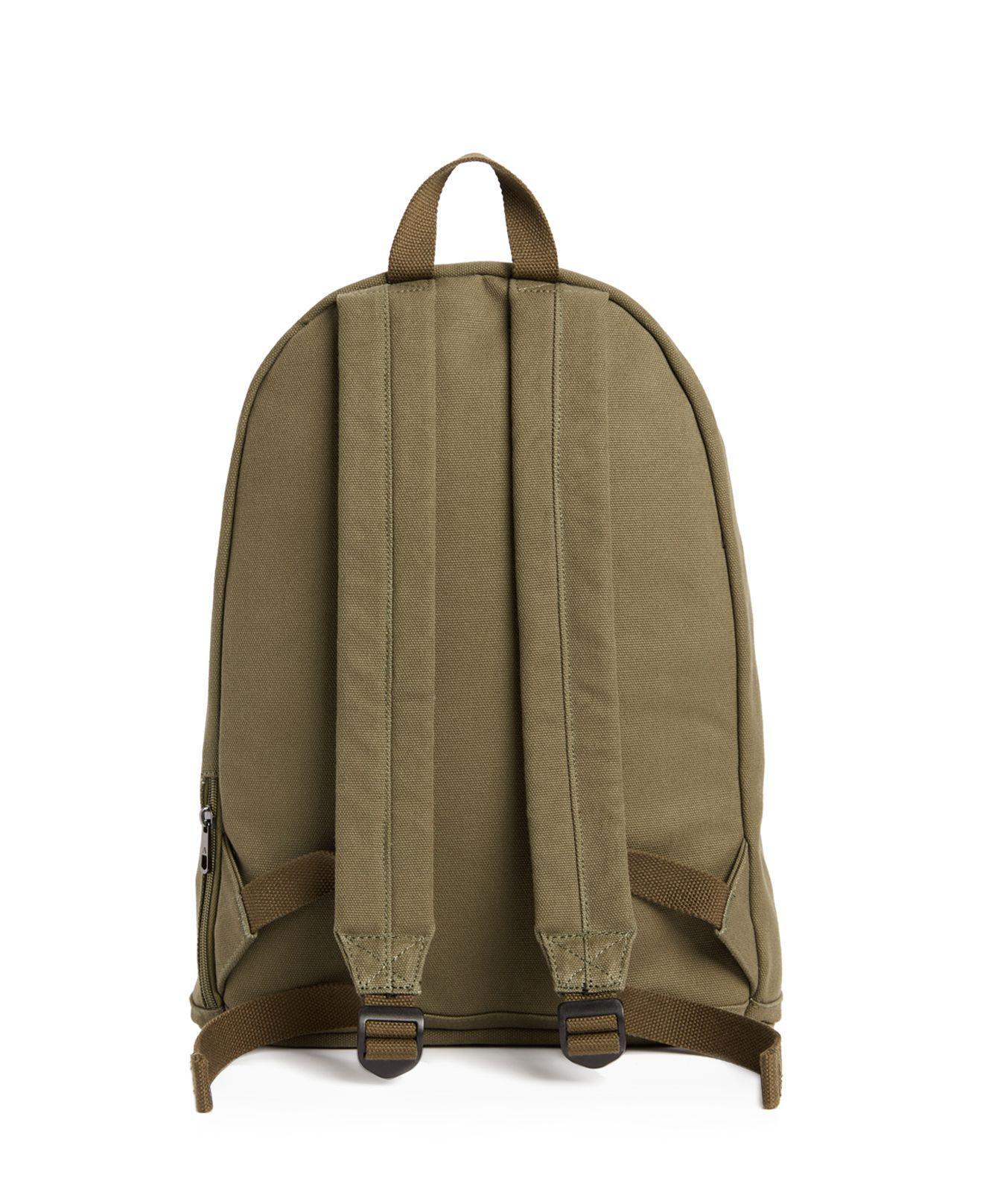 State Lorimer Canvas Backpack in Olive (Green) for Men