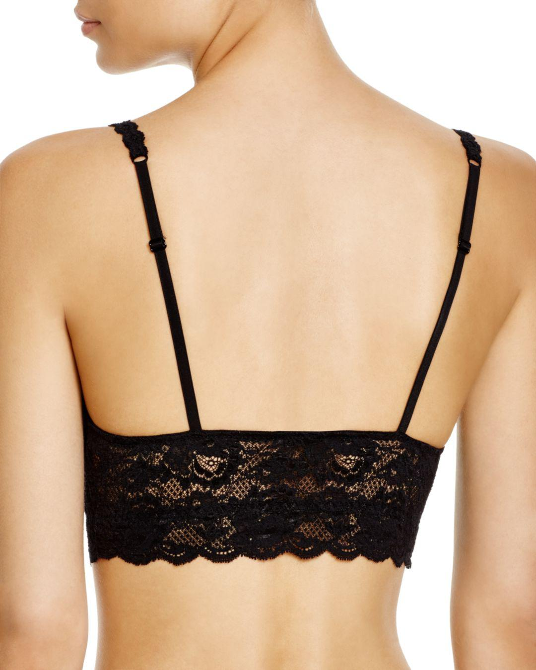 f7e35baa4d43c Lyst - Cosabella Never Say Never Sweetie Soft Bra in Black - Save  5.454545454545453%