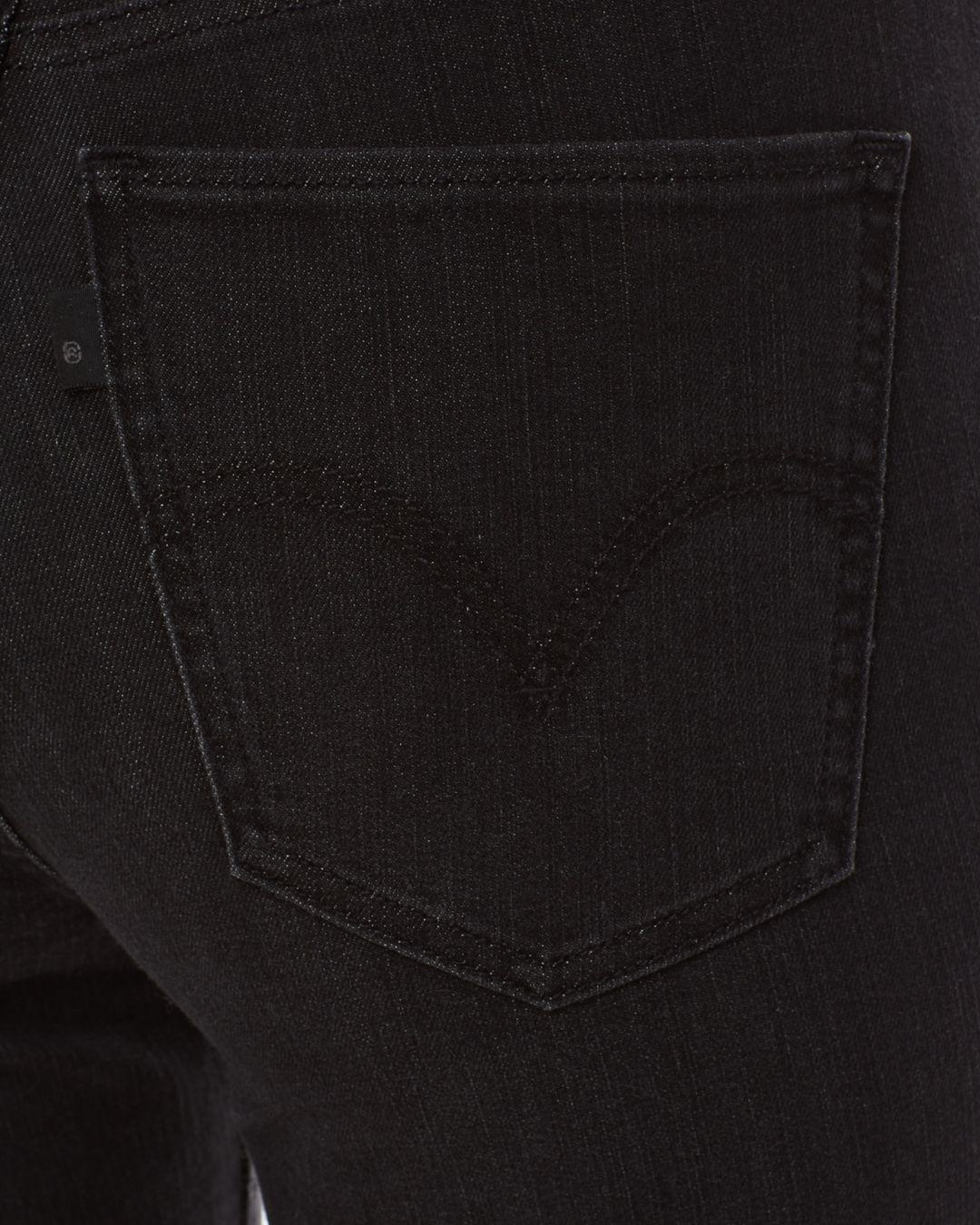Levi's Denim Mile High Ankle Jeans In Boogie Night in Black