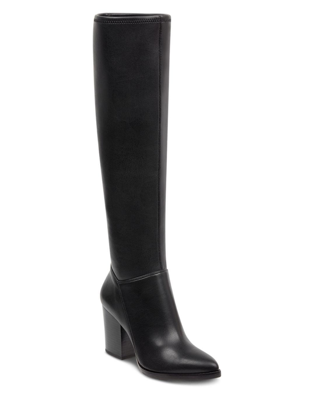 10d4004ca32b Marc Fisher Anata Knee High Boot (women) in Black - Lyst