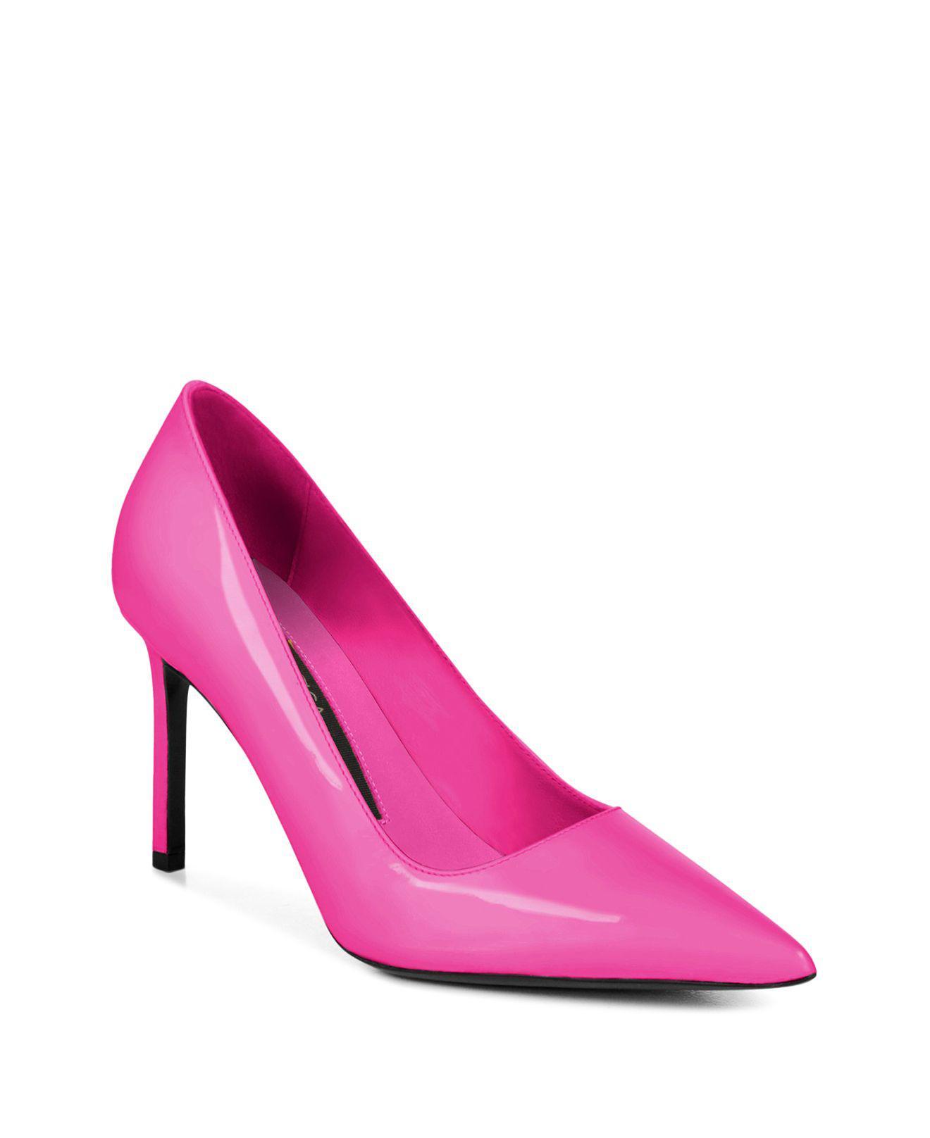 Via Spiga Women's Nikole Patent Leather Stiletto Pumps D7OJI