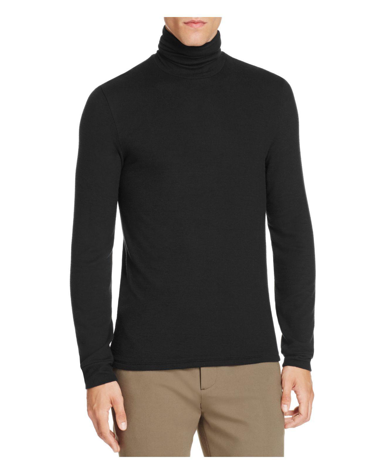 Atm Atm Cotton Ribbed Turtleneck Jumper in Black for Men | Lyst