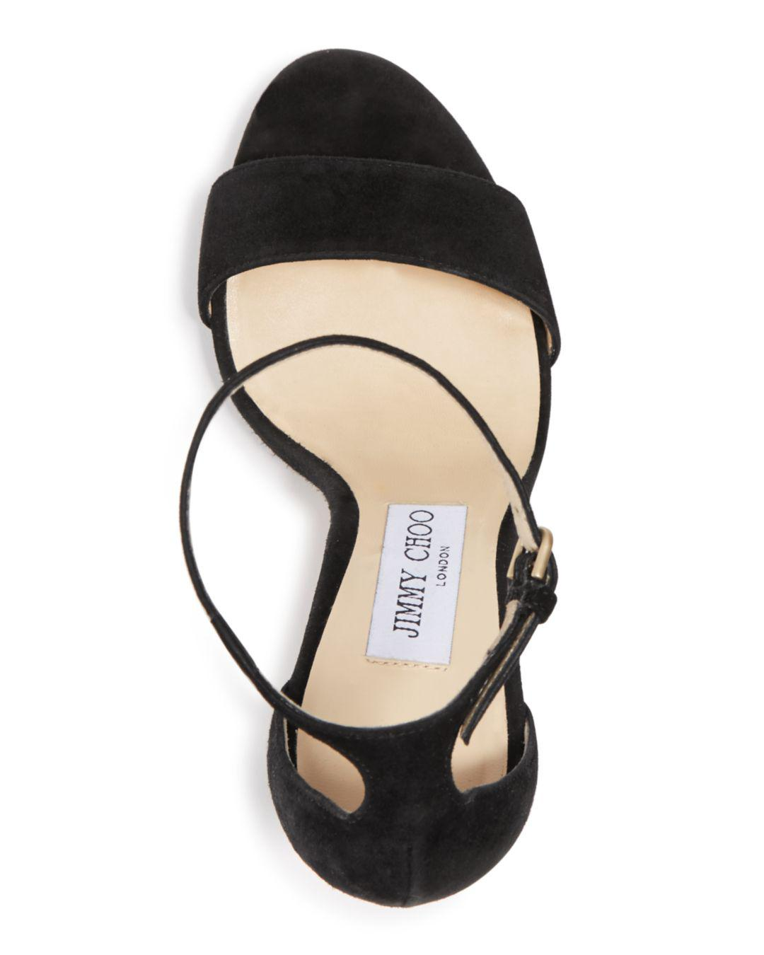 3f05389b969 Jimmy Choo - Multicolor Women s Misty 120 Suede High-heel Platform Sandals  - Lyst. View fullscreen