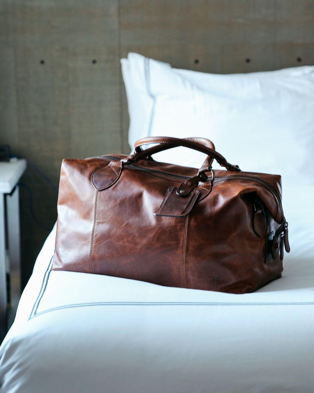 c6920154c64 Frye - Multicolor Logan Overnight Leather Duffle Bag for Men - Lyst. View  fullscreen