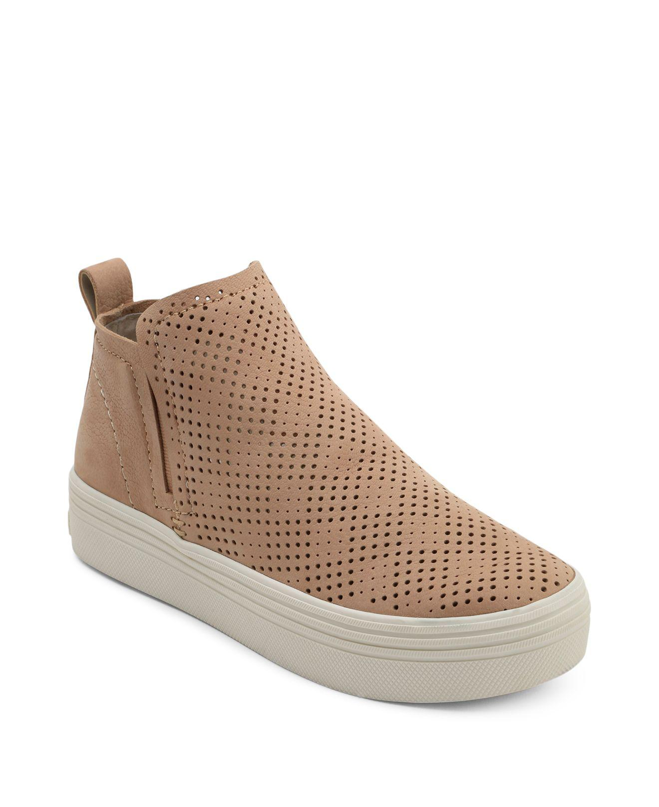 Dolce Vita Women's Tate Perforated Leather Slip-On Sneakers 9yJq0PaP
