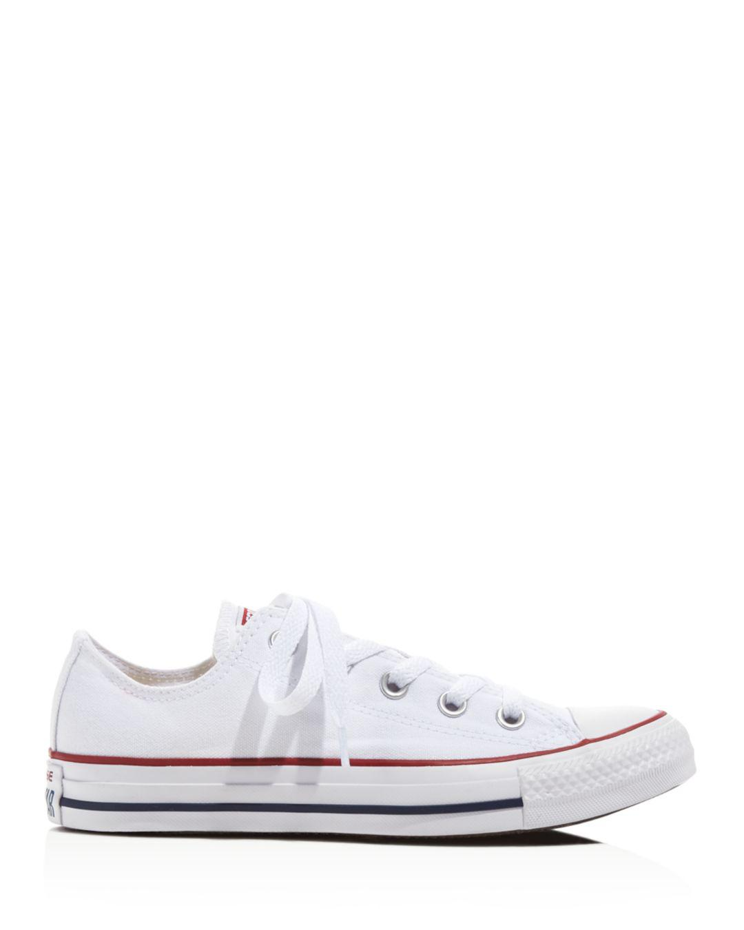 bbd0d071f96e43 Lyst - Converse Women s Chuck Taylor All Star Lace Up Sneakers in White