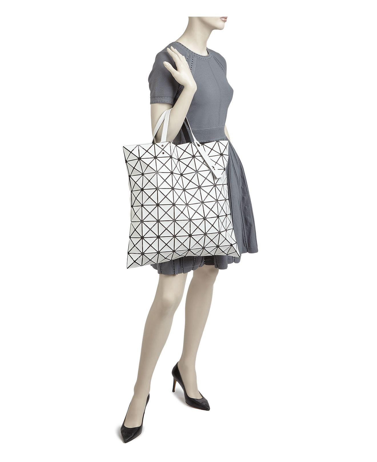 8342e4fc09 Lyst - Issey Miyake Bao Bao Lucent Extra Large Tote in White
