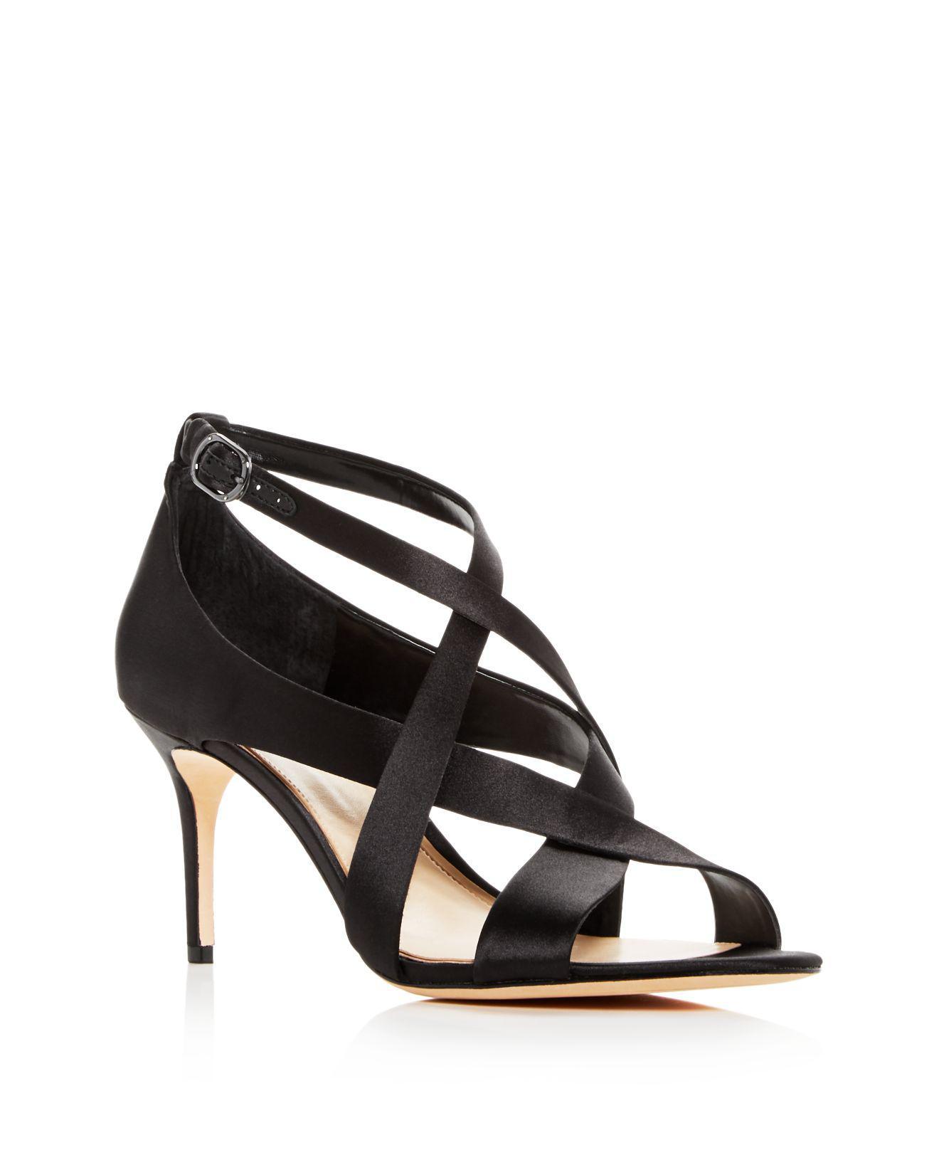 Vince Camuto Women's Paill Leather Crisscross High Heel Sandals JurSKo