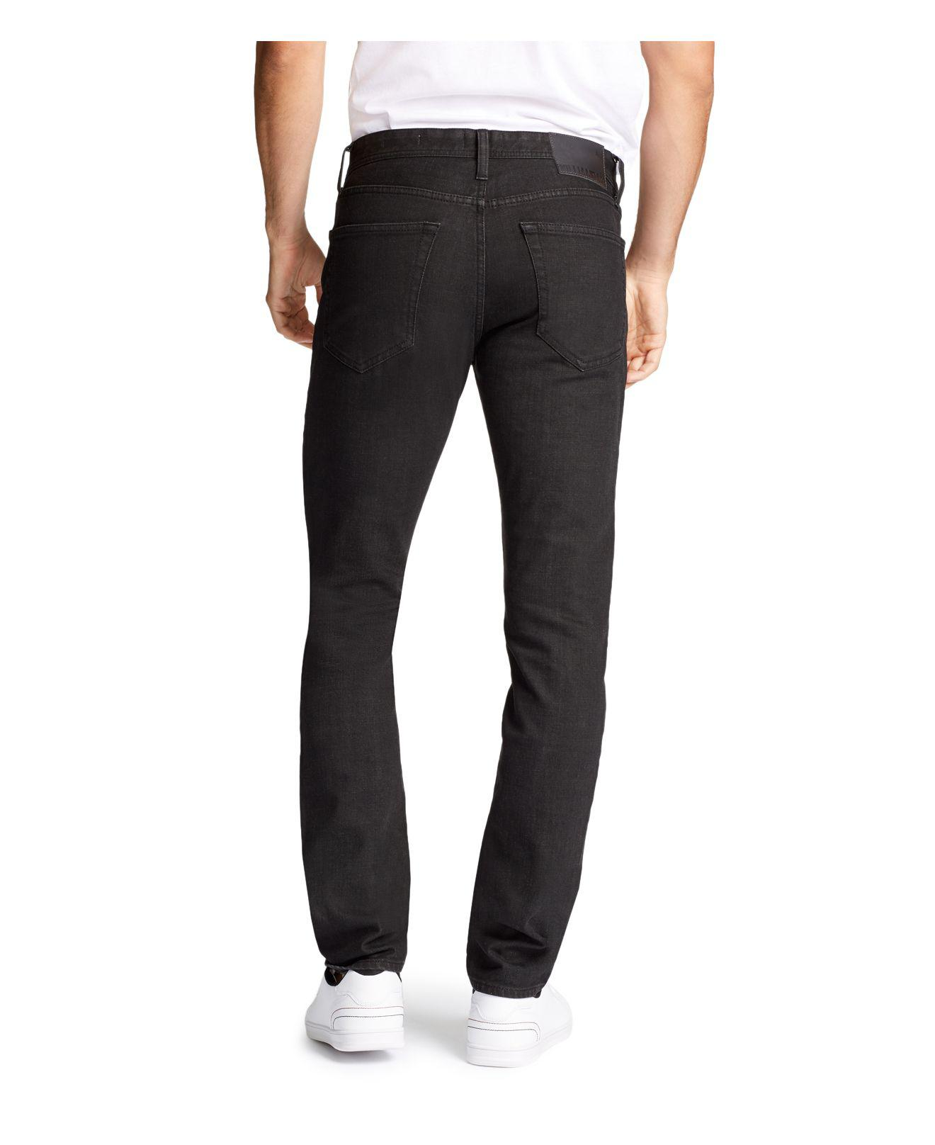 William Rast Denim Hollywood Slim Fit Jeans in Onyx (Black) for Men